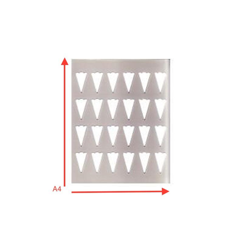 Stencil De Silicona 30 Cavidades Fan